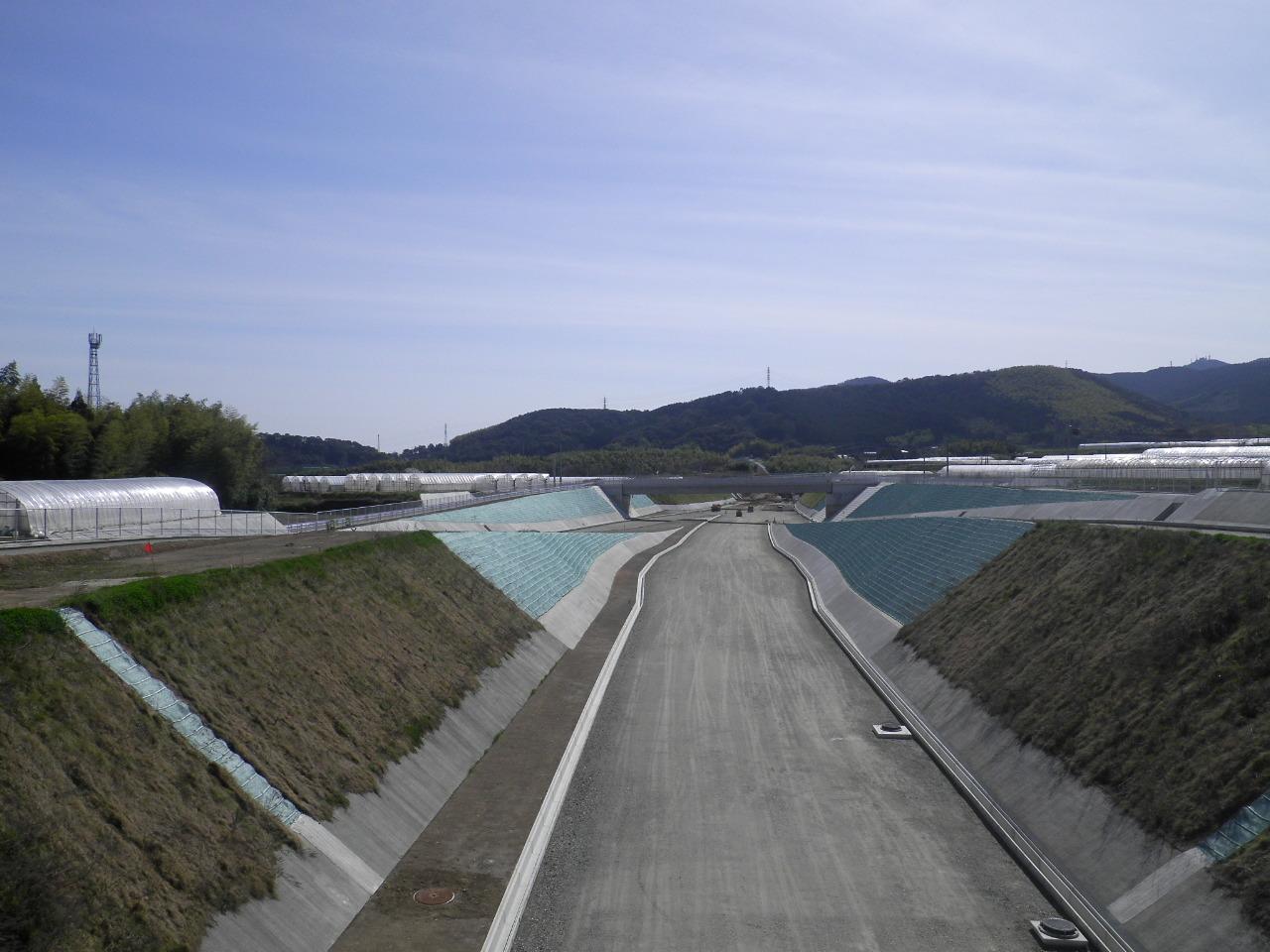 一般県道砂原四方寄線(花園工区)和泉地区道路改良イメージ