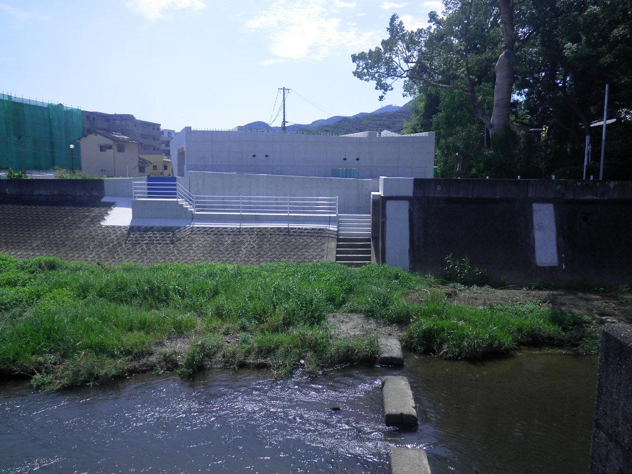 都市計画道路 花園池亀線橋梁下部工イメージ