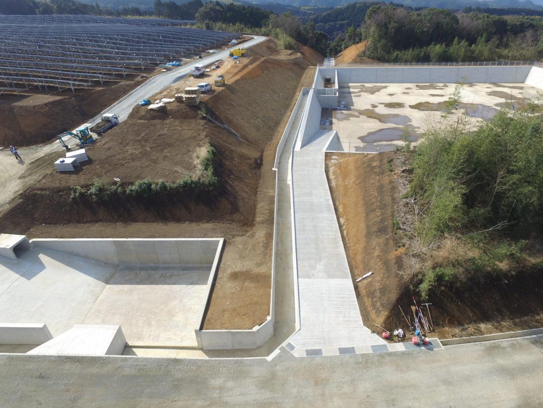益城太陽光発電所建設イメージ