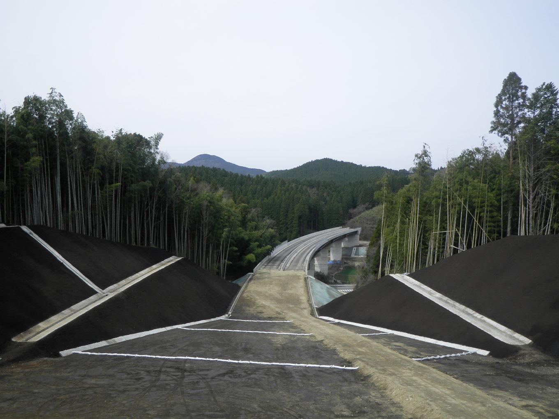 九州横断道(嘉島~山都)上寺地区改良イメージ