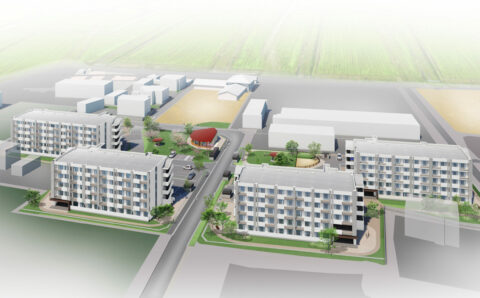 益城町買取型災害公営住宅整備事業(下辻地区)イメージ