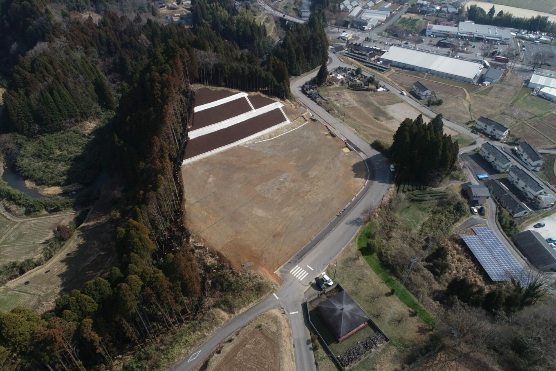 九州横断道(嘉島~山都)城平地区改良イメージ