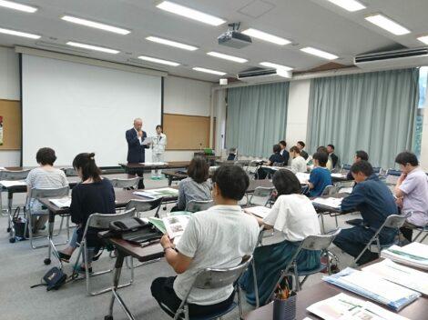 『熊本工業高等学校建築科保護者向け建設業説明会』に参加しました!