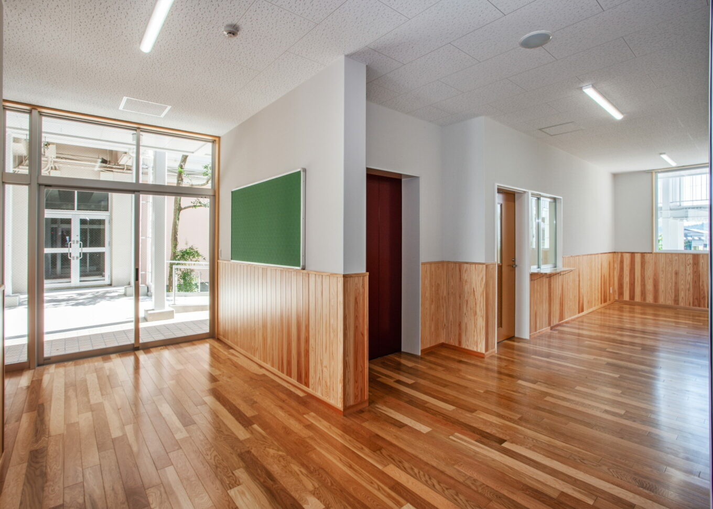 菊池女子高等学校特別教室棟イメージ