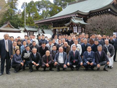 令和2年太樹會合同 新年安全祈願神事を執り行いました!