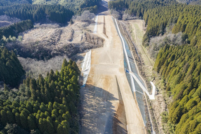 九州横断道(嘉島~山都)中畑地区改良6期工事イメージ