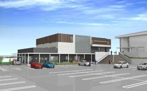 城南まちづくりセンター複合施設新築工事イメージ