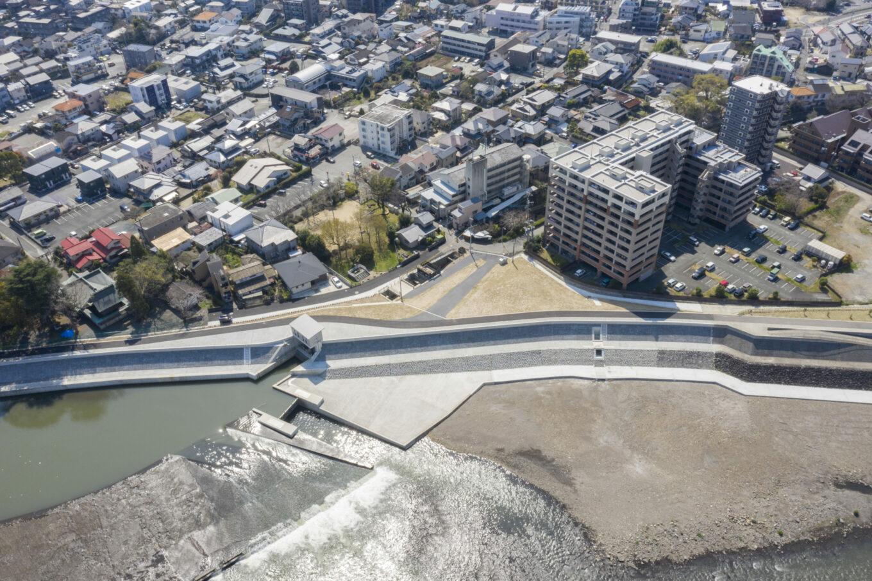 白川渡鹿地区築堤イメージ