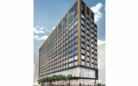 (仮称)熊本市新市街ホテル・店舗複合開発プロジェクトイメージ