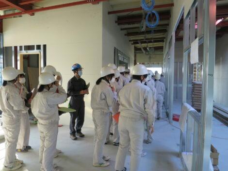 球磨工業高校の生徒さん達が現場見学にいらっしゃいました!