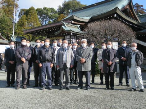 令和3年太樹會合同 新年安全祈願神事を執り行いました!