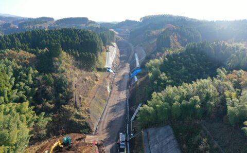 九州中央道 西原地区改良16期工事