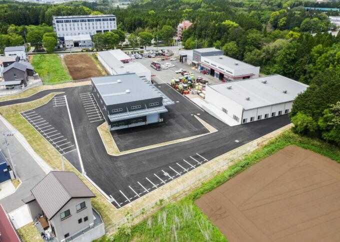 エム・エス・ケー農業機械㈱西日本支社 組立工場イメージ